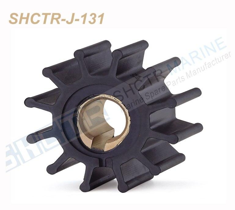 SHCTR Flexible Laufrad Kit für Jabsco 4568-0001, CEF 500108, Johnson 09-801B, yanmar 145410-46090 124310-46090, 875575-3 831182