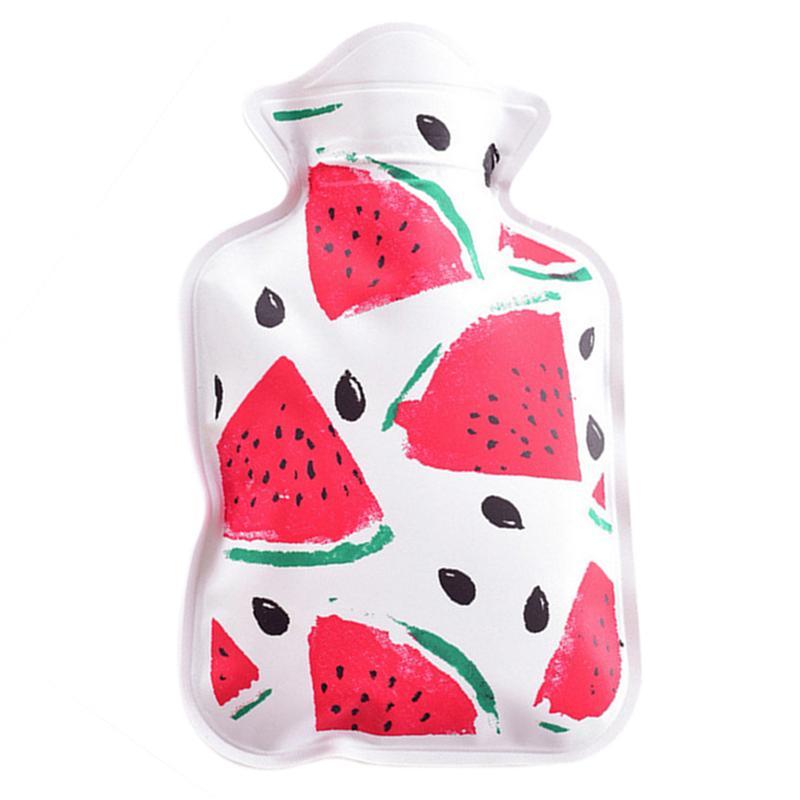 1pc Mini Cartoon Thick Water Heating Bag Hot Water Bottle Premium PVC Reuseful Hot Water Bag Hand Warmer Bag
