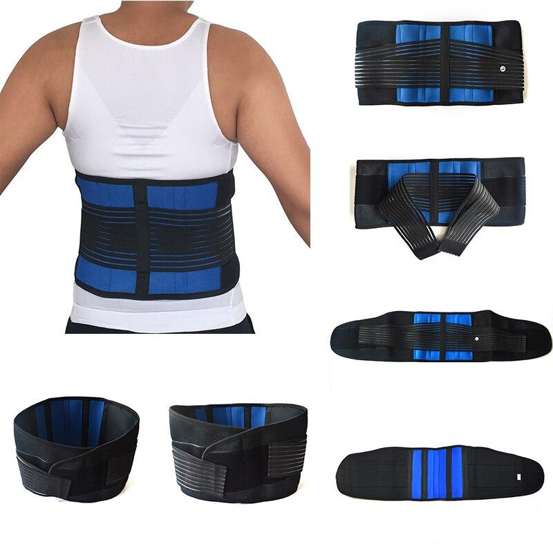 Posture Corrective Therapy Back Brace Men Women Back Support Corset Orthopedic Belt Waist Protection Belt Relief Pain XXXXL Y010