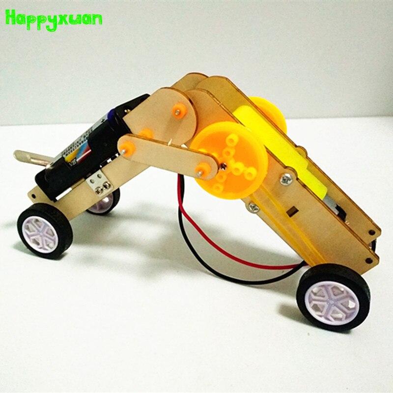 Kit de proyecto eléctrico para niños Happyxuan Kit de construcción de Robot conjunto de juguetes educativos de Ciencia de gusano, regalo de cumpleaños para niños escolares