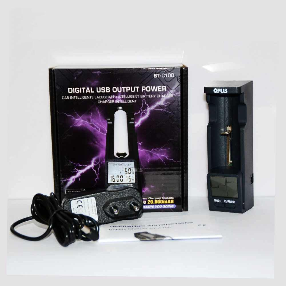 Beesclover opus BT-C100 digital lcd carregador de bateria inteligente para lifepo4 ni-mh nicd para 10440,14500, 16340 carregador de bateria r29
