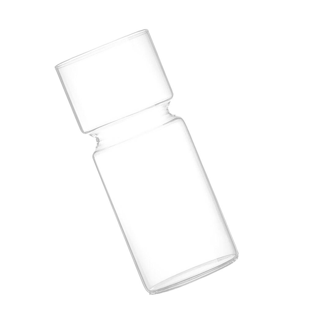 Clear DIY Landscape Glass Bottle Terrarium Container Flower Vase Hyacinth