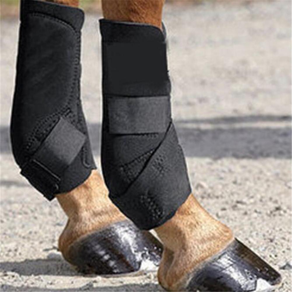 Ningún caballo profesional Leggings protectores de pezuña de caballo suministros de alta elasticidad OK tela
