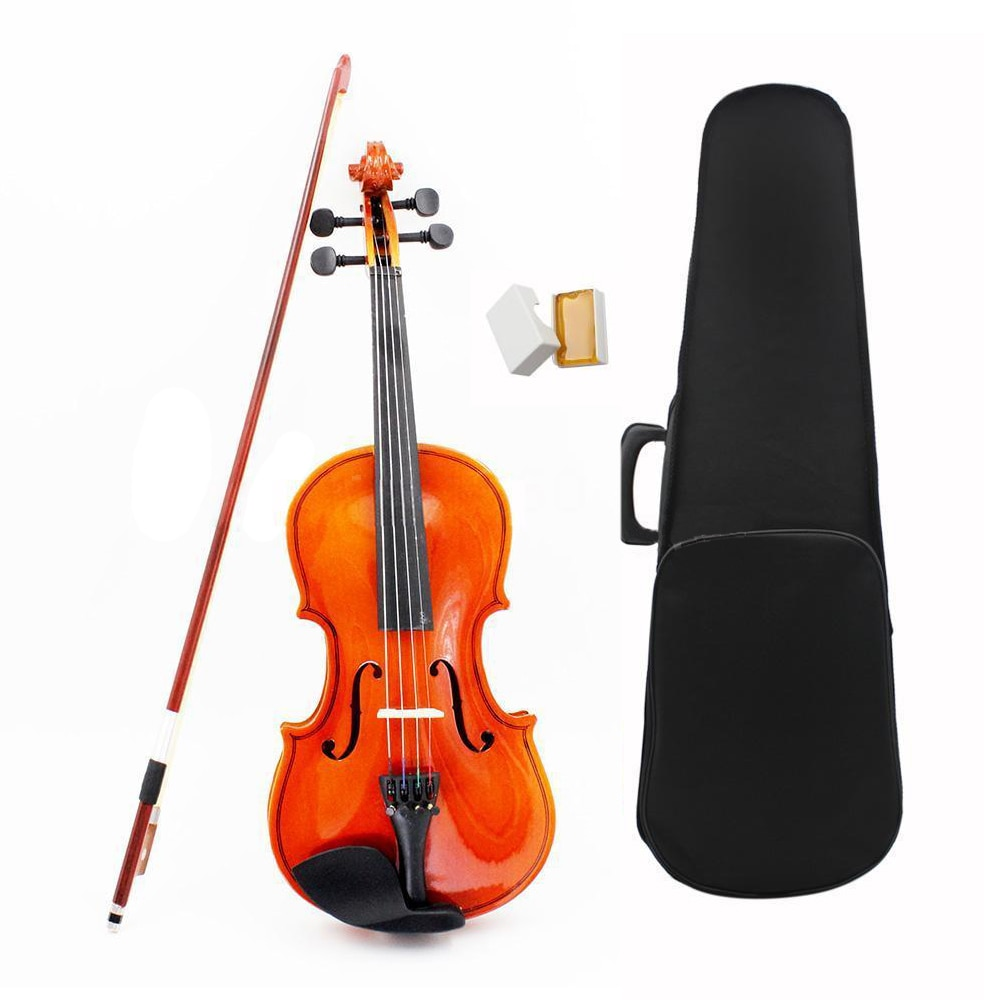 Violin ADDFOO 1/8 Size Acoustic Violin with Fine Case Bow Rosin Bridge For Age 3-6 M8V8 Basswood Steel String Arbor Bow 5PCS/Set 1 8 kids children natural acoustic violin fiddle with case bow rosin musical instrument gifts