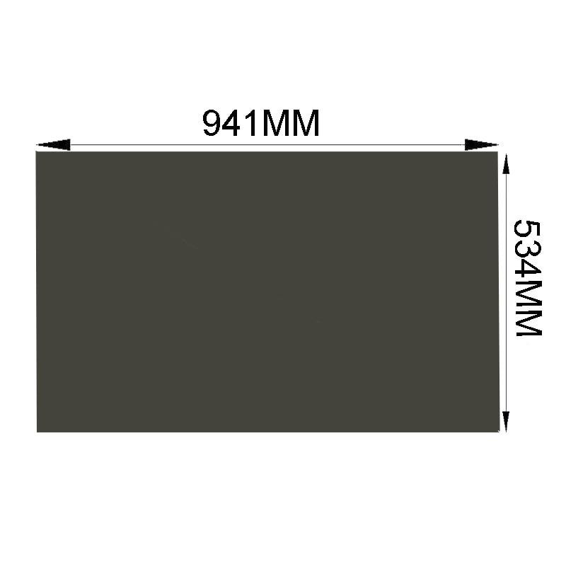 10 قطعة/الوحدة جديد 42 بوصة 0 درجة استقطاب LCD التلفزيون فيلم 941*534 مللي متر ل LCD شاشة LED لوحة