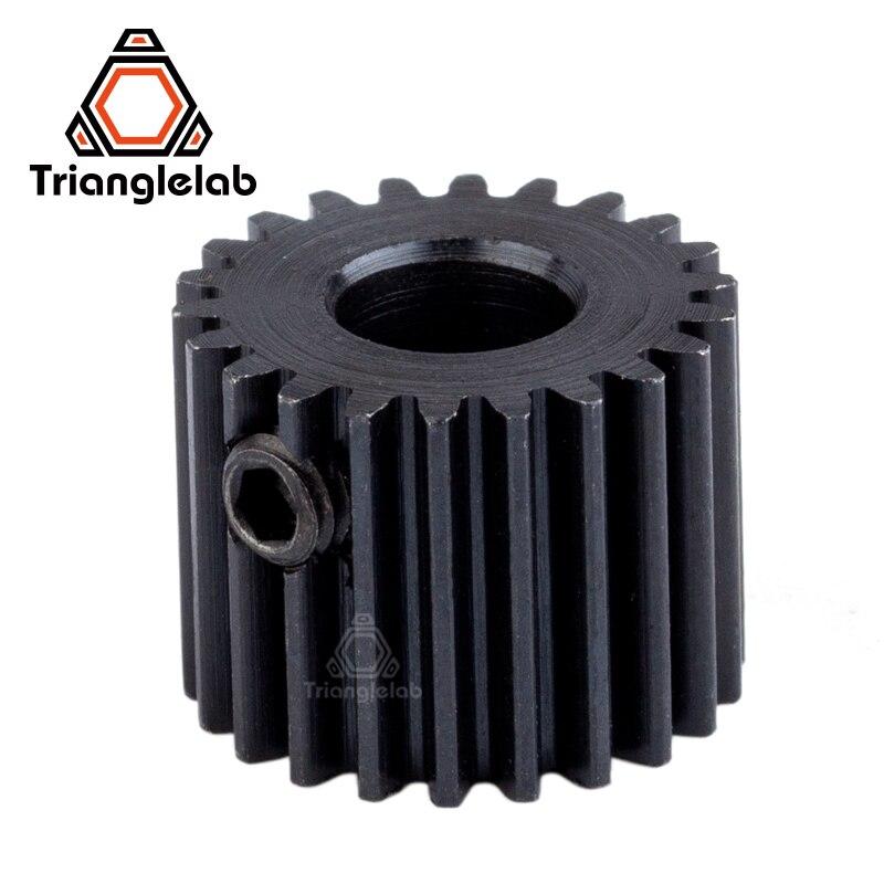 Trianglelab peças Titan titan engrenagens para FDM impressora 3d impressora 3d extrusora i3 extrusora de engrenagens do motor