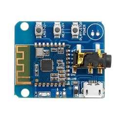 CLAITE JDY-64 Lossless Bluetooth Módulo De Áudio 4.2 de Alta Fidelidade Falante HIFI Audio Power Amplifier Board modificação do Fone de ouvido