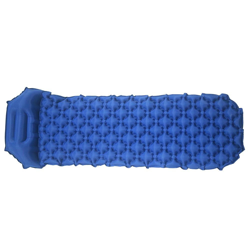 Cojín inflable al aire libre cama de saco para dormir relleno rápido aire a prueba de humedad Camping Mat con almohada almohadilla para dormir