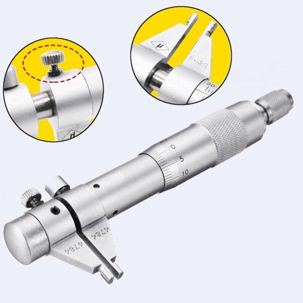 Новый точный внутренний микрометр диаметр отверстия Внутренний манометр 5 30 мм