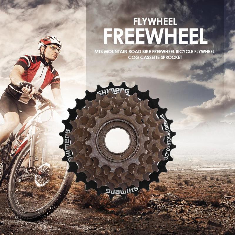MTB Mountain Road Bike Freewheel Bicycle Flywheel Cog Cassette Metal Thread Sprocket 2019 New Cycling Parts Accessories