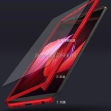 360 housse de protection complète pour Huawei P étui intelligent avec verre trempé pour Huawei P SMART FIG-LA1 LX1 LX2 LX3