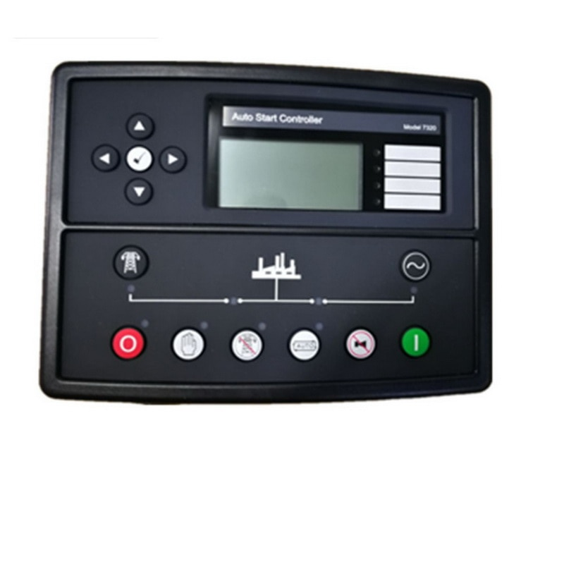 DSE7320 אוטומטי גנרטור בקר DSE 7320 ATS פנל חשמלי אוטומטי מרחוק lcd תצוגת siesel genset חלק