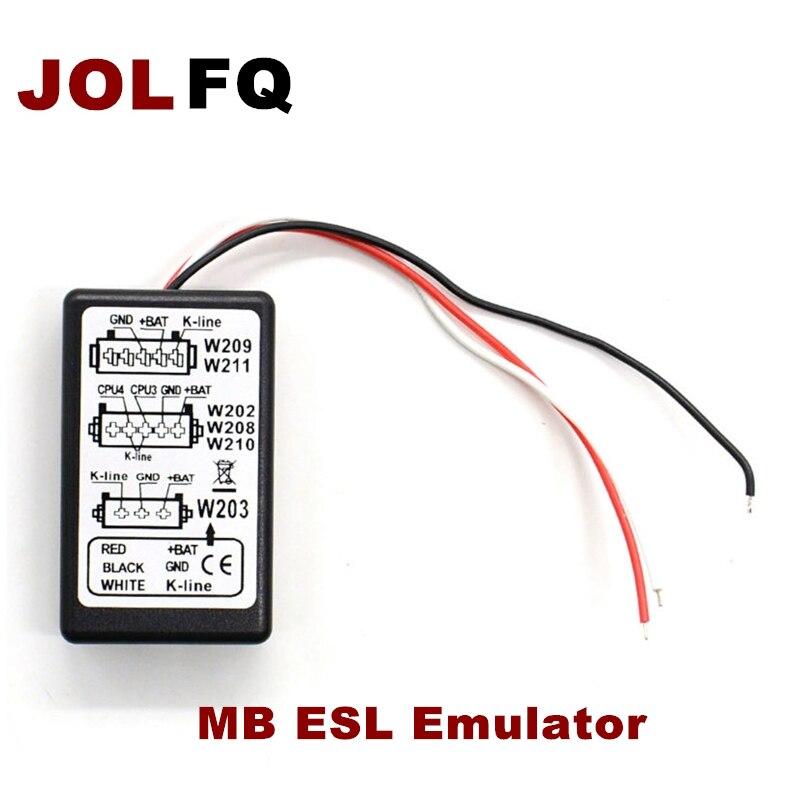2019 эмулятор для mercedes esl для W202, W208, W210, W203, W211, W639 MB эмулятор ESL бесплатная доставка