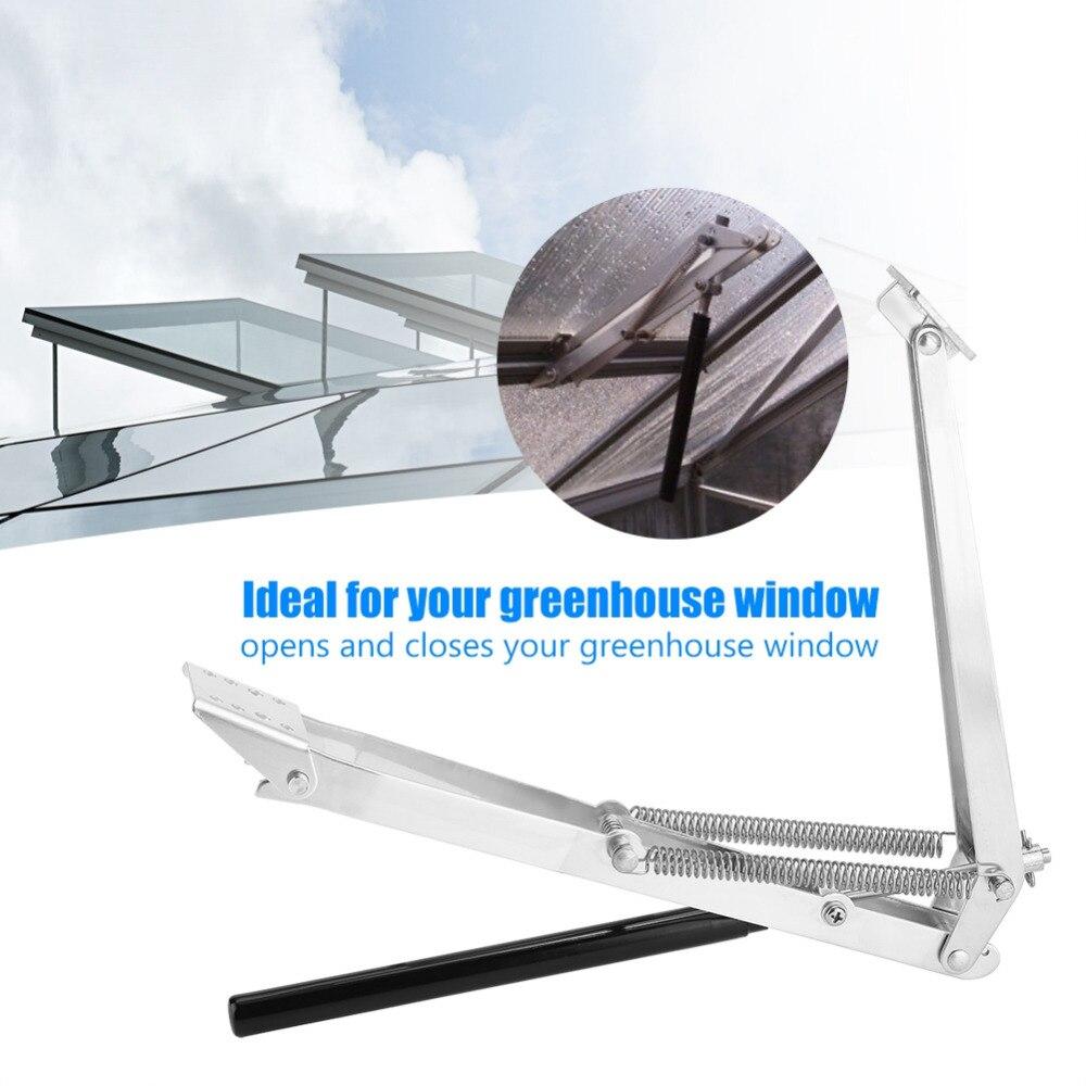 Abridor automático de ventanas de invernadero sensible al calor Solar termoroof herramientas de apertura para ventana de ventilación de invernadero