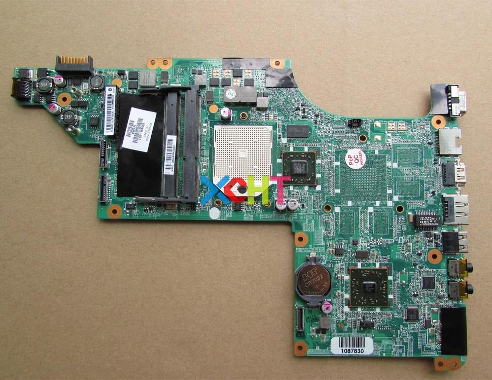 Para HP Pavilion Série 605496-001 DV7-4000 DV7 DA0LX8MB6D0 DDR3 Laptop Motherboard Mainboard Testado