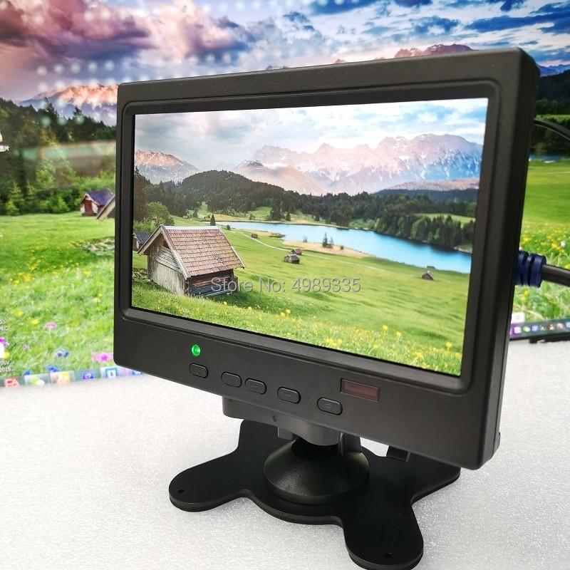 7 inch monitor monitor PS4 Raspberry Pi HDMI vgav for1024x600ips