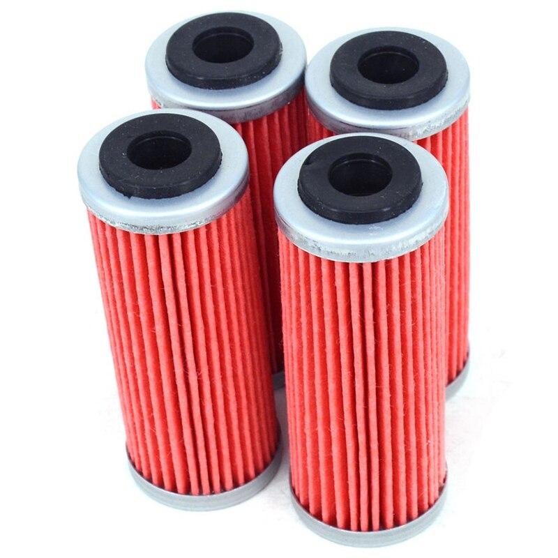 4Pcs Motorrad Öl Filter Reiniger Für Ktm Exc-F Sx-F Xc-F Exc Xcf- W Smr Xc-W Exc-R Xc-Wr 250 300 350 400 450 505 530 Schmutz Bik