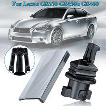 Left Right Headlight Headlamp Washer Nozzle Cover Cap & Clip For Lexus GS350 2006 GS450h 2008-2011 GS460 2008-2011