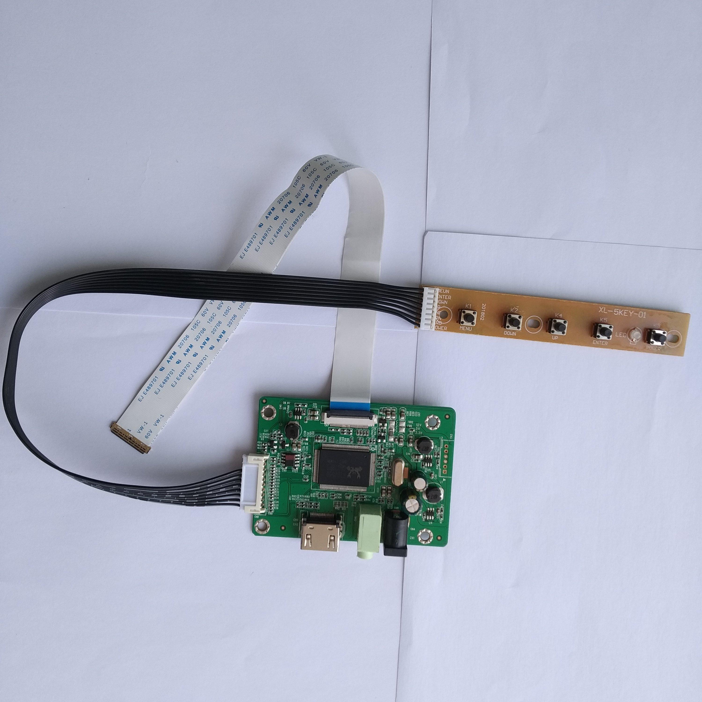 "LCD HDMI LED EDP mini controlador kit para 14,0 ""B140XW01 V4 1366X768 Panel de monitor de pantalla"