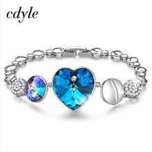 Bracelet orné de Bracelets en cristal pour femmes et Bracelets bijou breloque de mode bijoux en Bracelets pour femme