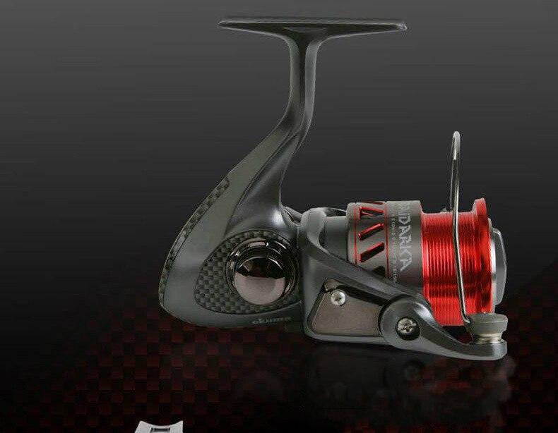OKuma Spinning Wheel Carp 7+1BB Fishing Reel Durable Aluminum Alloy Light Line Spooler Wire Winder Lure Coil Fishing Gear Pesca enlarge