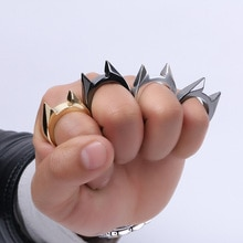 Кольцо окно выключатель палец выживания бой Открытый аварийный EDC инструмент для женщин леди Самозащита защита оружие