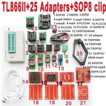 DYKB Minipro TL866II USB programmierer 25 adapter buchse SOP8 Clip IC klemme Bios Flash-EPROM FÜR IC Tester software serielle 74/54