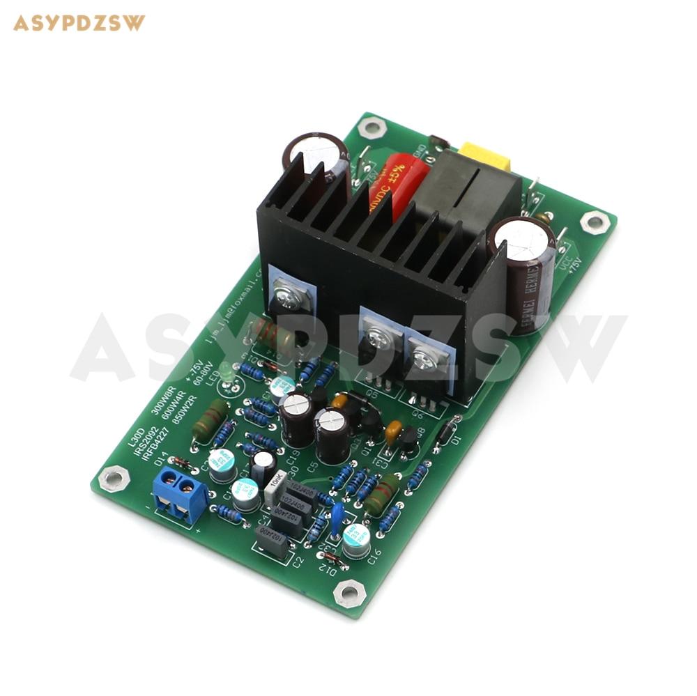 L30D цифровой моноусилитель мощности, готовая плата 850 Вт IRS2092S IRFB4227 IRAUDAMP9
