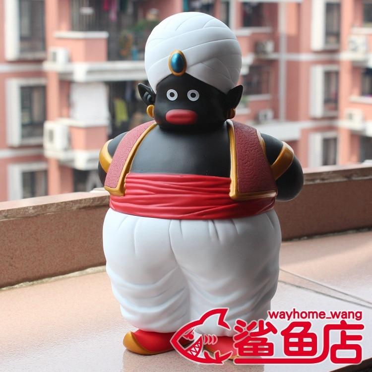 Animación de garaje para niños juguetes de Dragon Ball para niños figuras de acción muñecas de PVC hombre negro Mr. BoBo modelo decoración excelentes regalos