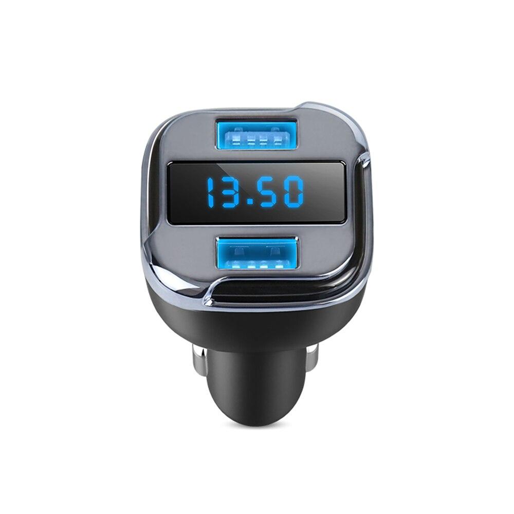 Cargador de coche 2 en 1 USB Dual Mini GPS aplicación móvil localización de rastreador GPS de coche dispositivo de seguimiento en tiempo Real voltímetro Detector