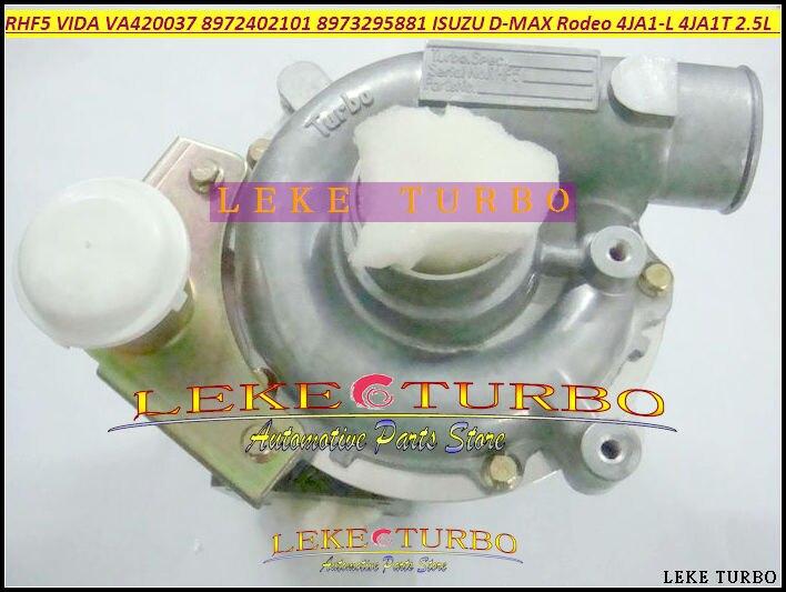 RHF5 VIDA 8972402101. 8971856452, 8973295881 VA420037 VB420037 Turbo para ISUZU D-MAX pickup rodeo 04-4JA1-L 4JA1L 4JA1 2.5L 136HP