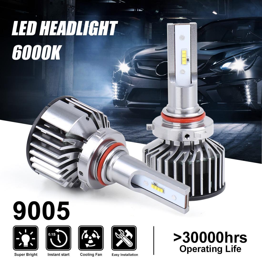 Auténtico coche K8 9005/9012/H1/H3/H4/H7/H11 para faros LED Philips 6000K 6800LM 55W