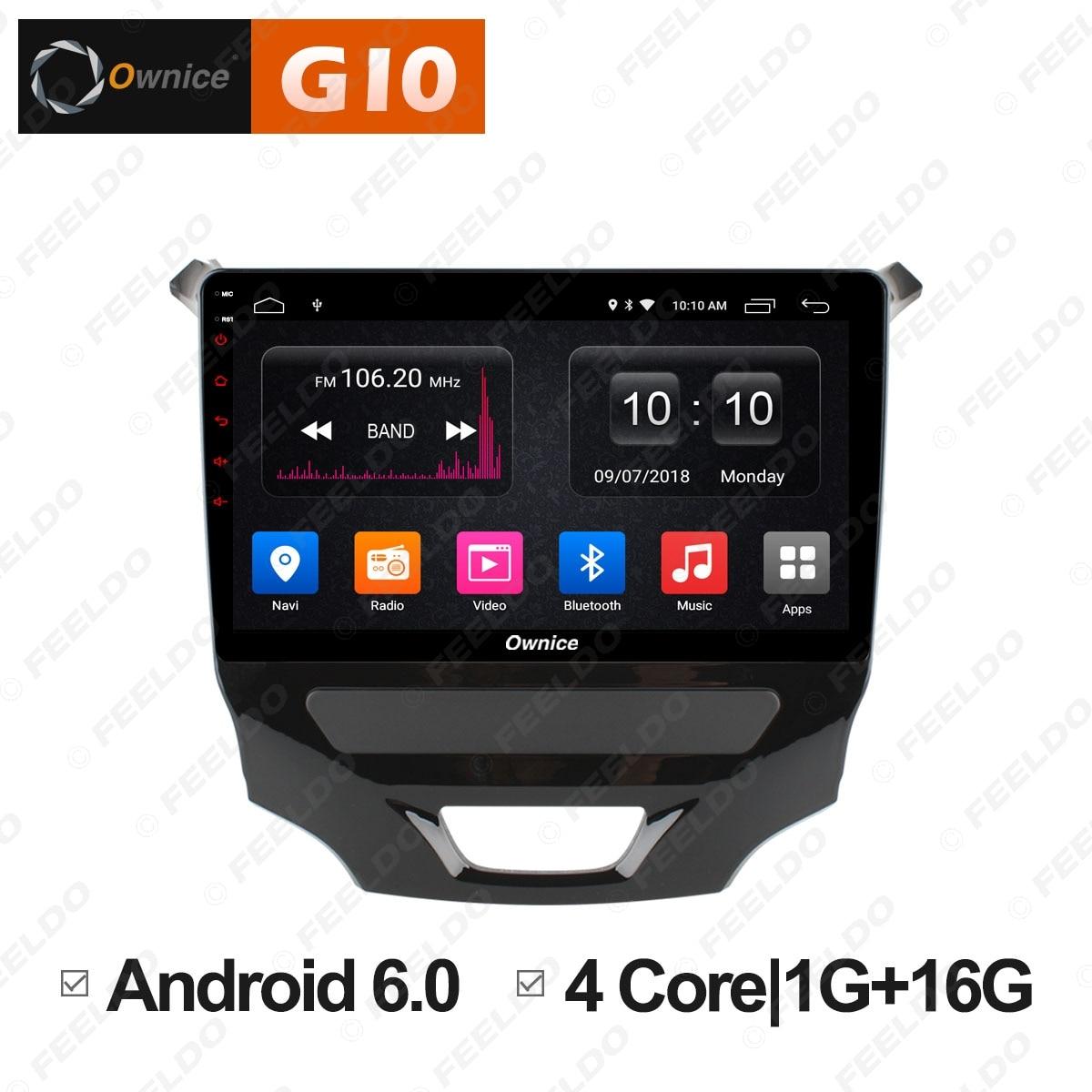 "FEELDO 9 ""2.5D Nano IPS pantalla Android 6,0 Octa Core/DDR3 2G/32G/4G LTE reproductor multimedia para coche con GPS/FM/AM RDS para Cruze 2015"