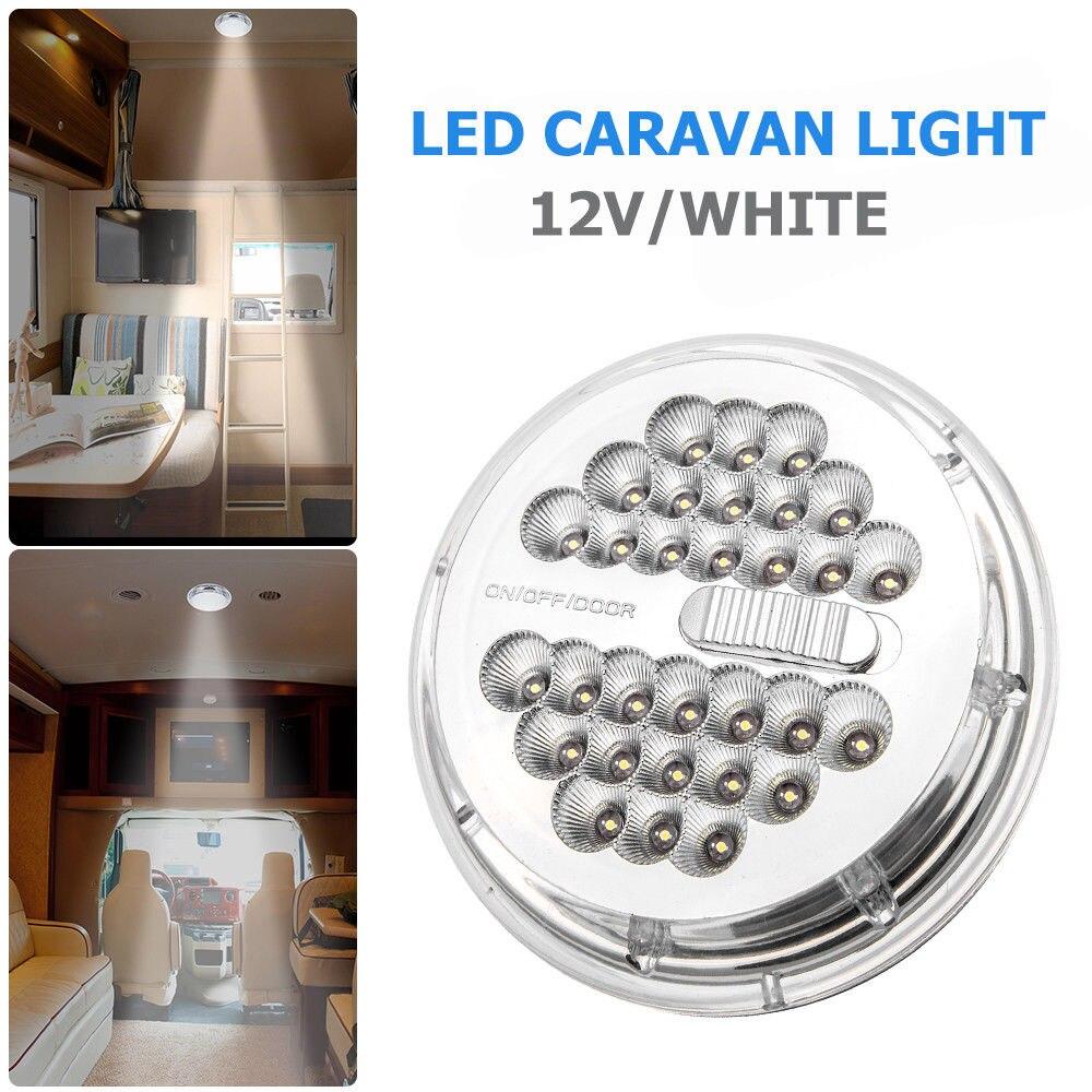 Luz do carro Interior 12 V LED Branco LWB Van Camper Van Sprinter Para Carro Barco Caravana