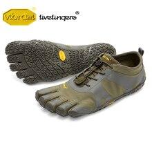 Vibram cinq doigts v-alpha hommes Sneaker Cross-country course en plein air cinq-toed armée couleur cinq doigts chaussures Parkour Adventure