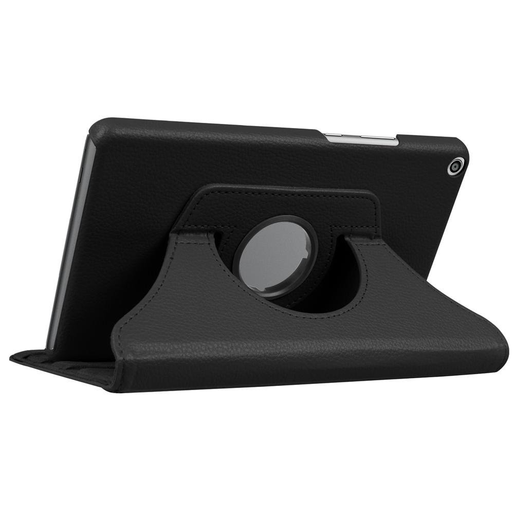 PU Funda de cuero para Huawei MediaPad T3 8,0 Honor juego Pad 2 KOB-L09 KOB-W09 Tablet Funda para Huawei T3 giratorio 8,0 de caso