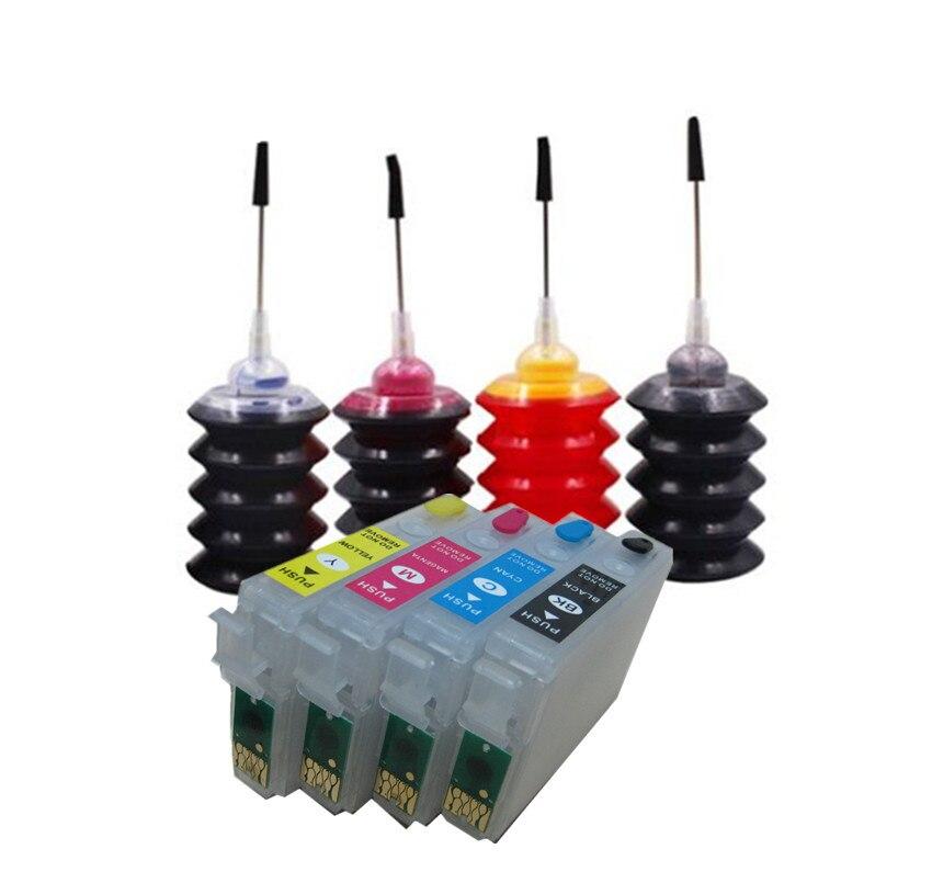 Kit dencre de recharge pour cartouches dencre, T2991 29 29XL pour imprimante EPSON XP 235 245 332 335 432 435