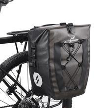 27L 19L su geçirmez bisiklet çantası MTB yol bisiklet bisiklet arka raf Pannier bisiklet arka koltuk raf bisiklet çanta Panniers Dropshipping