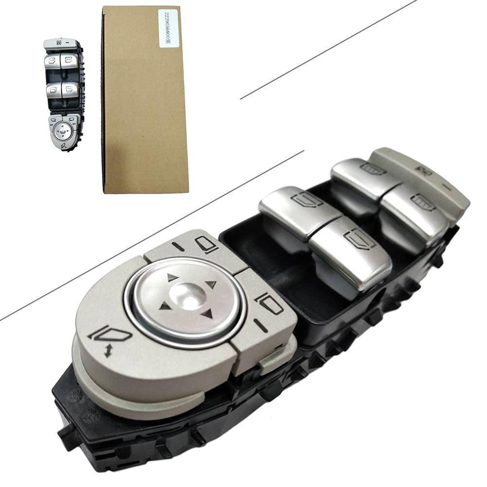 Interruptor Da Janela de poder Para Mercedes-Benz C300 C63 C350e W205 S550 S63AMG 2229056800