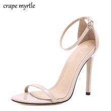 الكلاسيكية مثير النساء أحذية الزفاف الأحمر اللمحة تو الخنجر أحذية عالية الكعب صناديل للنساء أسود أحمر عارية الأبيض الصنادل امرأة YMA269