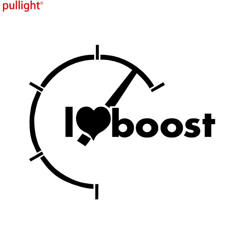 Atractivo I Heart Boost calcomanía Jdm importación Turbo camión pegatina