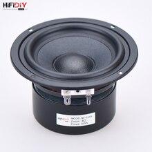 "HIFIDIY CANLı HIFI 4 inç 4.5 ""Midbass Woofer hoparlör Ünitesi 4/8 OHM 50 W pamuk ve kenevir fiber lavabo Hoparlör B4-116S"