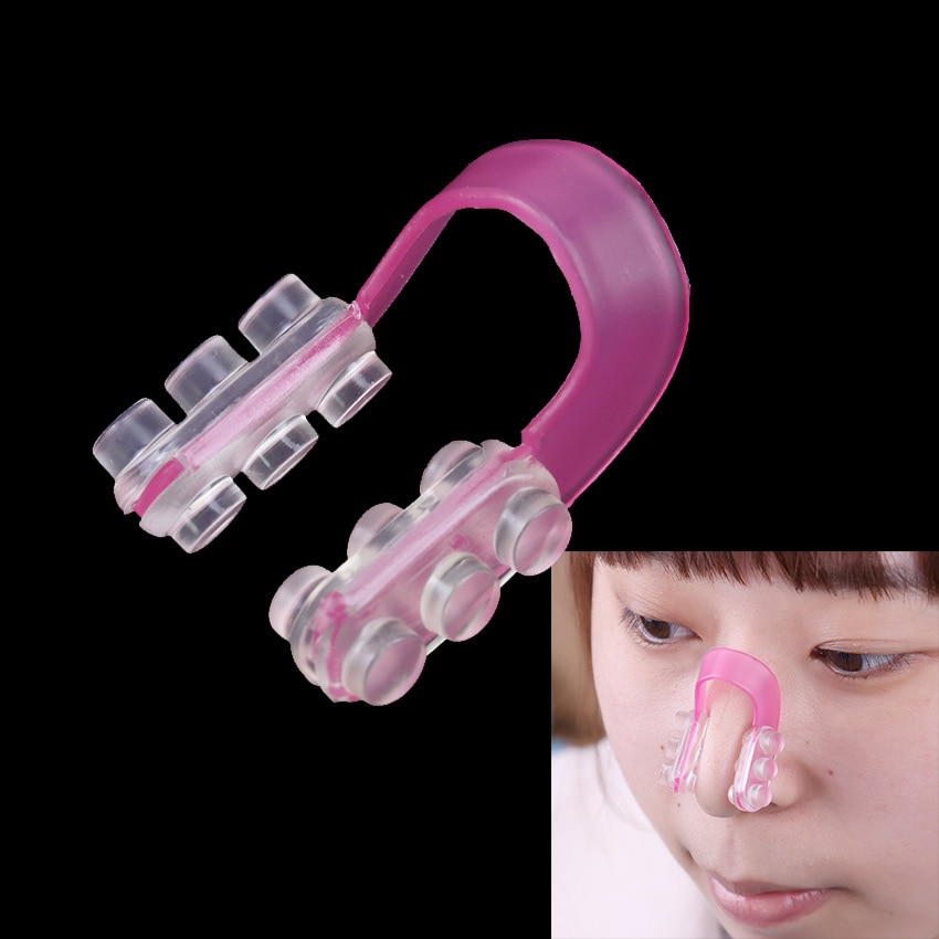 Soft Silicone Shape The Nose Shape Straighten The Bridge Of The Nose Equipment Nose Care Beauty Nose