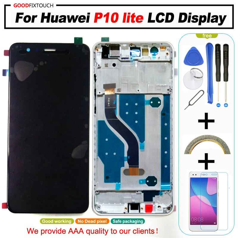 Pantalla LCD original de 5,2 pulgadas para HUAWEI P10 Lite, pantalla Lcd para HUAWEI P10 Lite, pantalla WAS-LX1 WAS-LX1A WAS-LX2