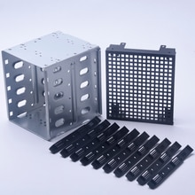 Pour la Cage de disque dur dordinateur SAS PC fournit le support SATA acier inoxydable avec lespace de ventilateur 5.25