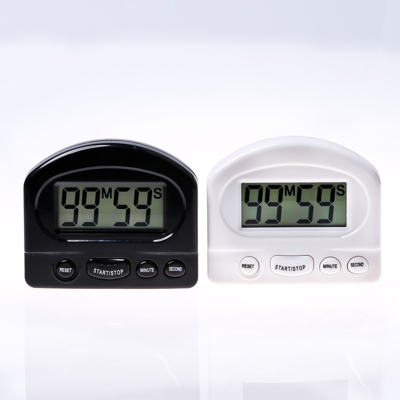Kitchen Timer Kitchen Tools Gadgets Practical Kitchen Countdown Timer Alarm White Black Cooking Time