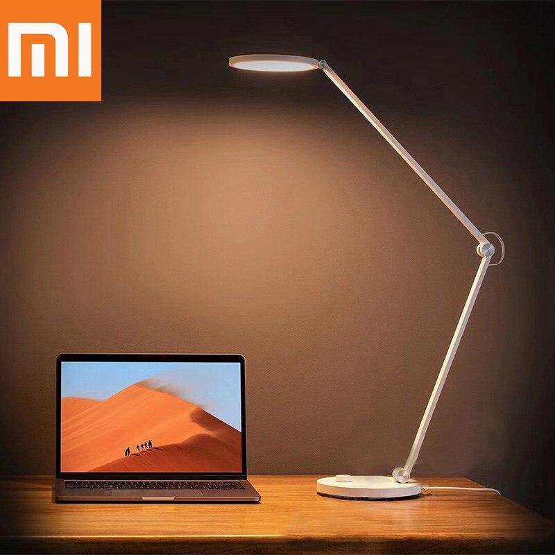 Lámpara LED de escritorio Xiaomi Mijia, Luz Portátil, protección ocular para el hogar, luz con Control remoto, WiFi, Bluetooth, lámpara de mesa, Luz