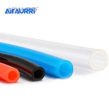 1M Luft Schläuche Pneumatische Rohr Rohr Schlauch Gas Rohr Schlauch 10mm OD 6,5mm ID 8mm x 5mm 6mm x 4mm 2,5mm 12x8mm Transparent Blau Rot PU