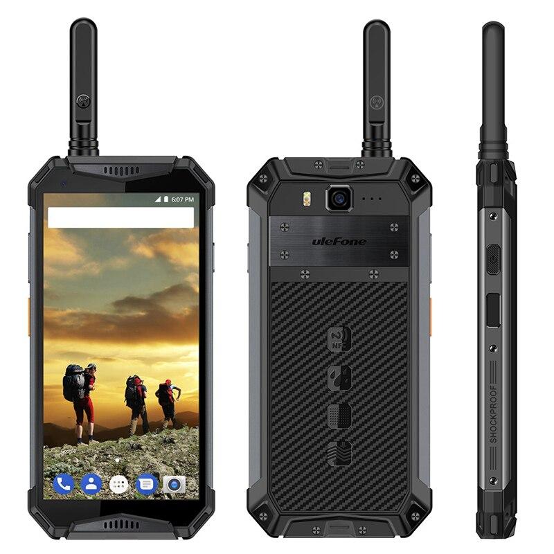 Original Ulefone armadura 3T 4G Smartphone 5,7 pulgadas Android 8,1 de 2,5 GHz 4GB RAM 64GB ROM 21MP cámara trasera 10300mAh móvil