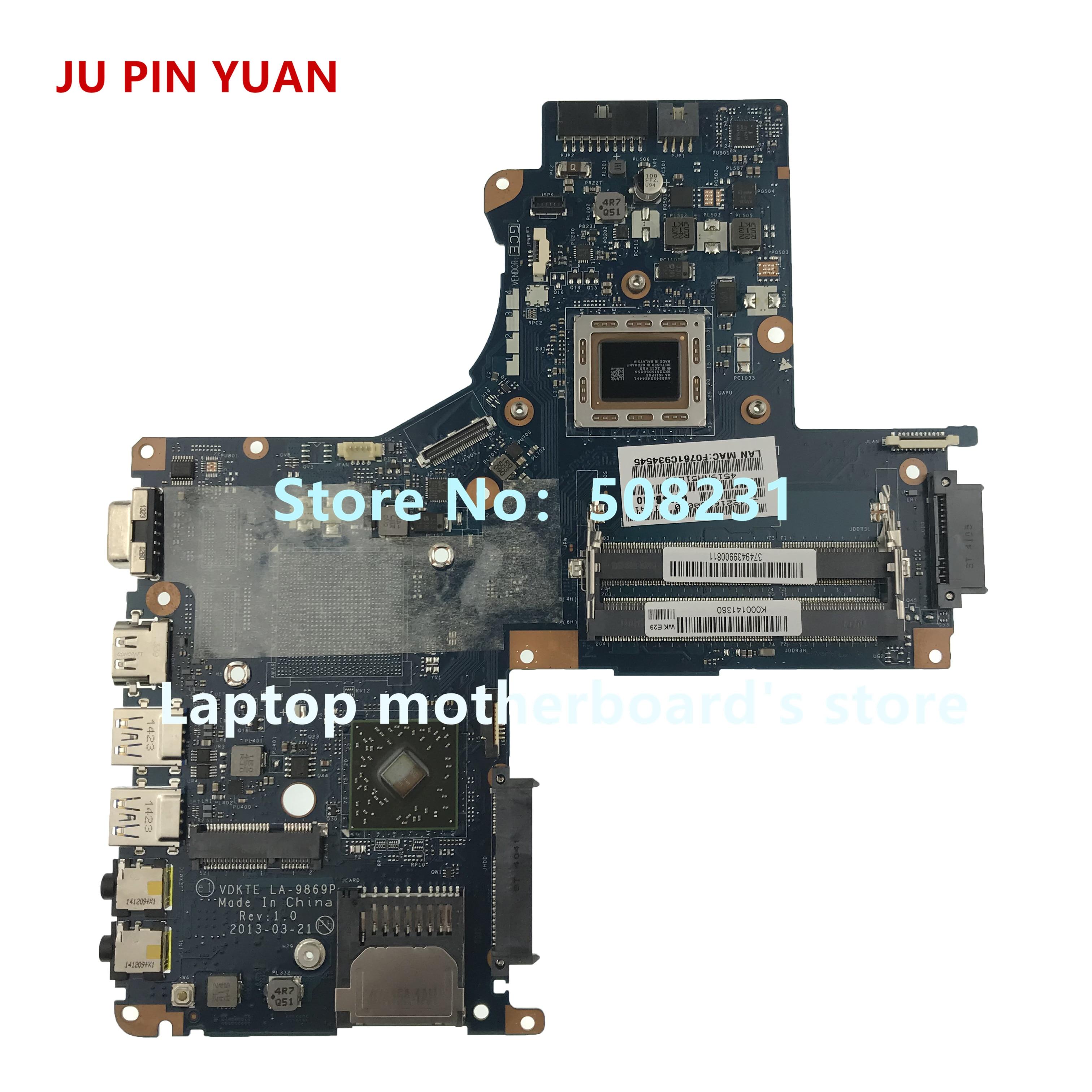 جو دبوس يوان K000141380 LA-9869P لتوشيبا L40D-A L45D-A S40DT-A S45D-A سلسلة اللوحة المحمول مع A8-5545M